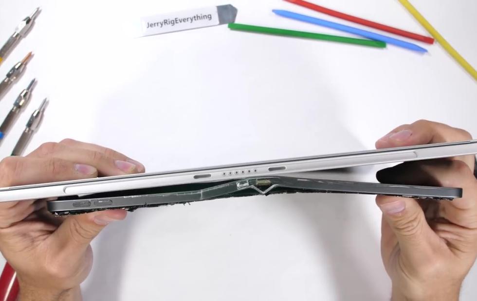 Surface Pro 6 se muestra más resistente que el iPad Pro