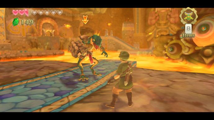 The Legend of Zelda: Skyward Sword a switch