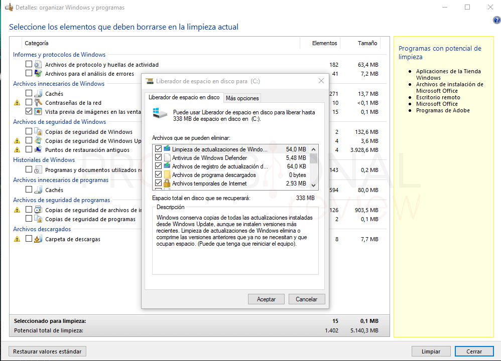TuneUp Windows 10 paso 07