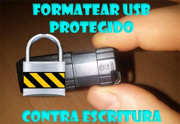 como quitar proteccion contra escritura micro sd windows 10