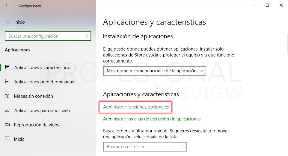 SSH en Windows 10 paso 01