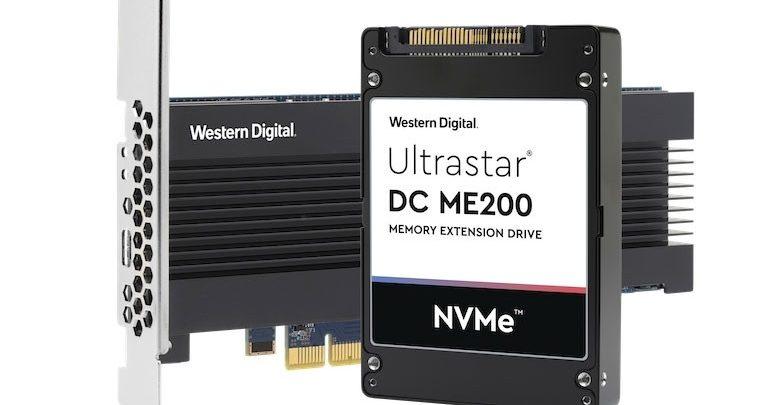 Photo of Western Digital Ultrastar DC ME200 acelera el segmento de computación en memoria