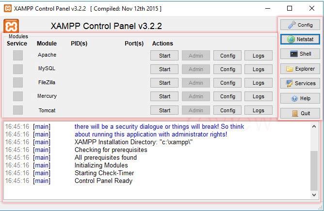 XAMPP en Windows 10 tuto07