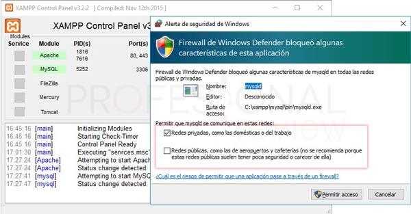 XAMPP en Windows 10 tuto09