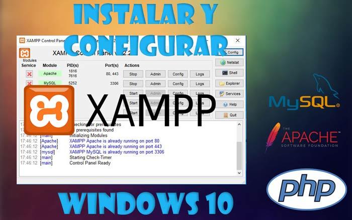 XAMPP en Windows 10