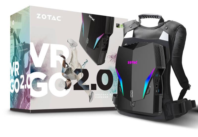 Zotac VR GO 2.0, nuevo PC enfocado a la realidad virtual