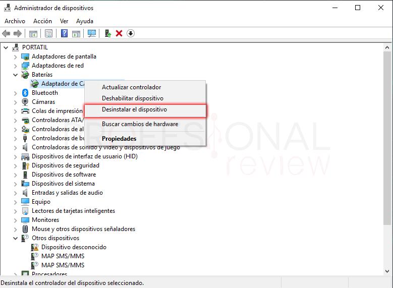 Activar icono de batería Windows 10 paso 02