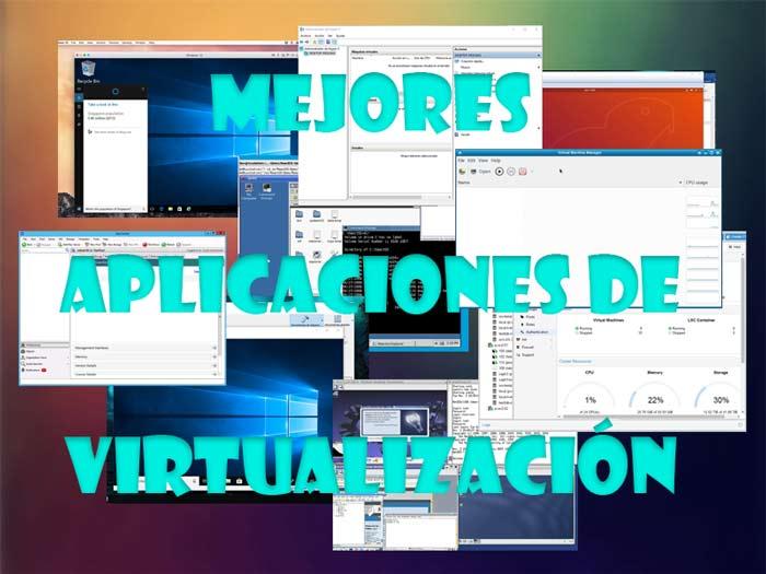 Aplicaciones de virtualización