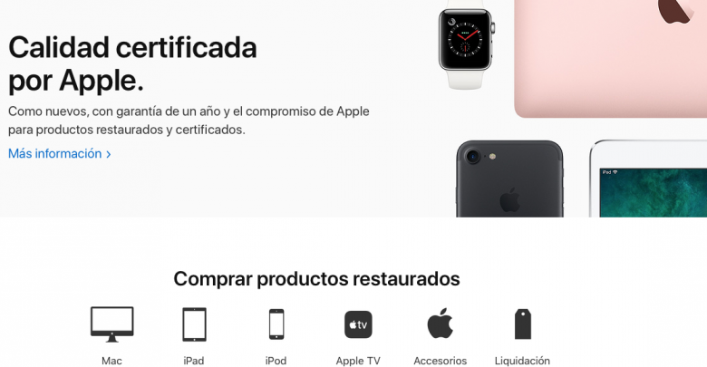 Photo of Apple renueva su sección online de productos restaurados y certificados