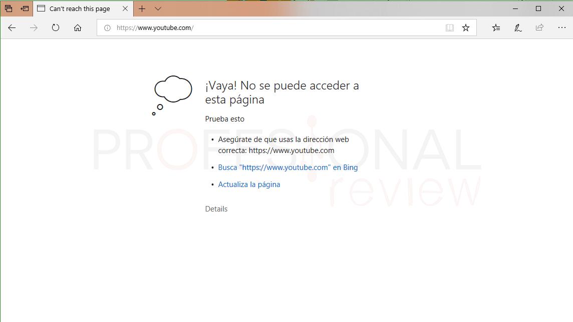 Archivo hosts Windows 10 tuto07