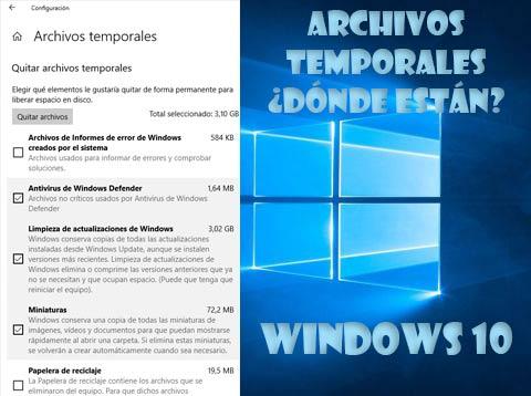 Photo of Donde están los archivos temporales en Windows 10 y como eliminarlos