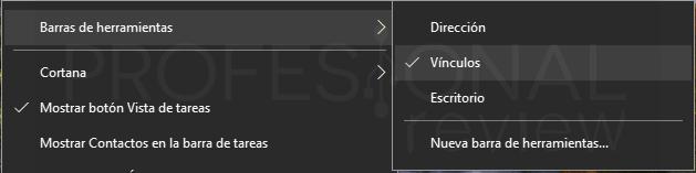 barra de tareas Windows 10 p16