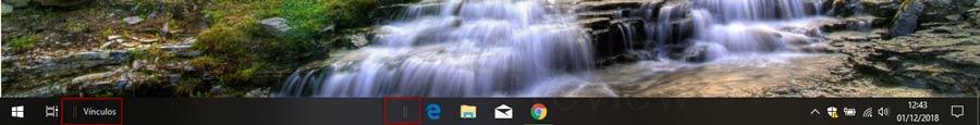 barra de tareas Windows 10 p20