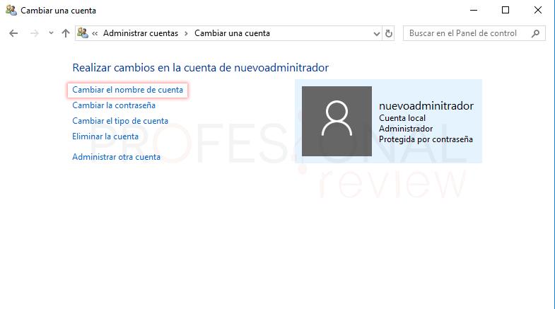 Cambiar administrador de Windows 10 tuto11