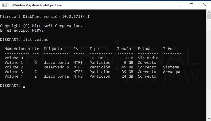 Cambiar letra de unidad en Windows 10 tuto03