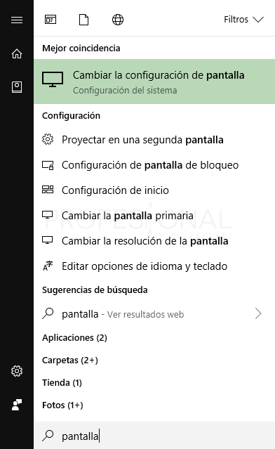 Cambiar tamaño de letra Windows 10 tuto03
