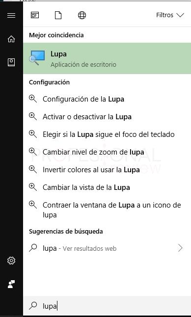 Cambiar tamaño de letra Windows 10 tuto06