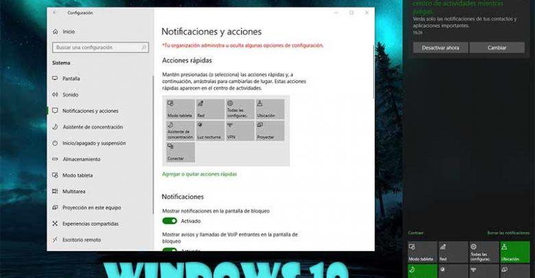 Photo of Centro de actividades Windows 10: todo lo que debes saber