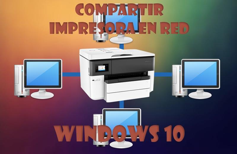 Compartir impresora en red