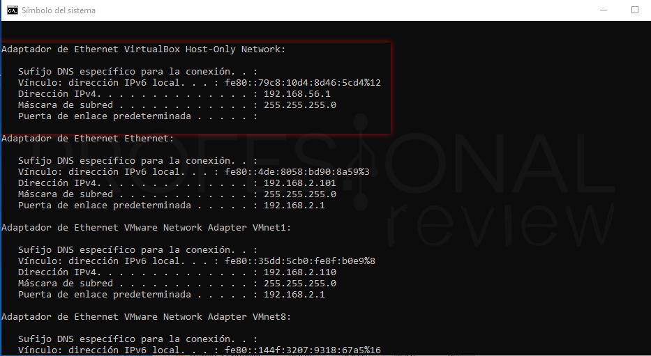 Conectar dos ordenadores en red tuto03