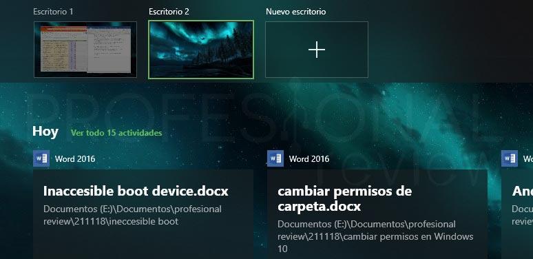 Crear escritorio en Windows 10 tuto04