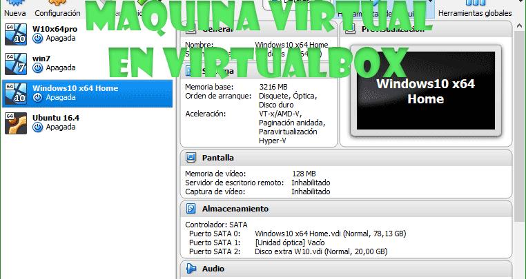 Photo of Como crear máquina virtual en VirtualBox y configurarla