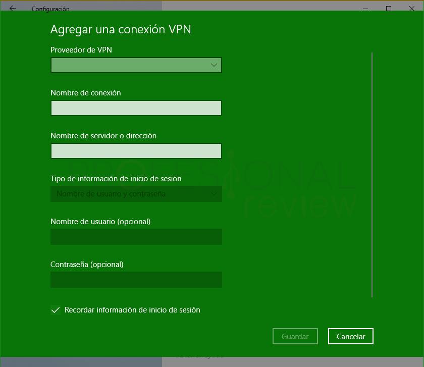 VPN en Windows 10 tuto15