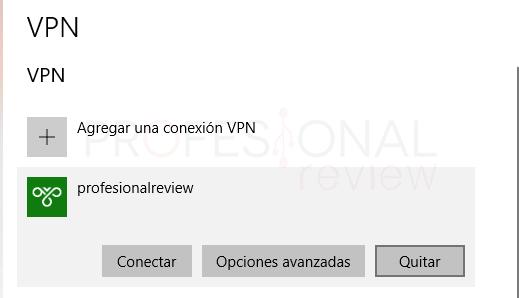 VPN en Windows 10 tuto02