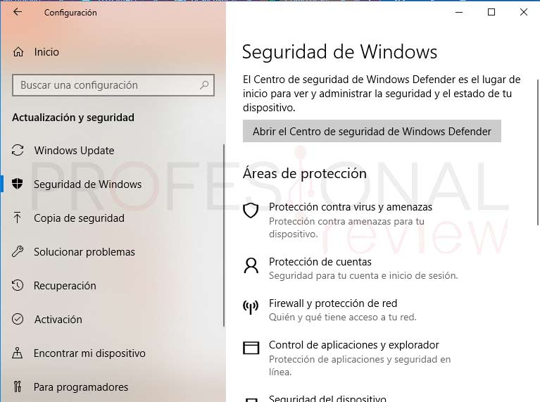 Desactivar Windows Defender tuto02