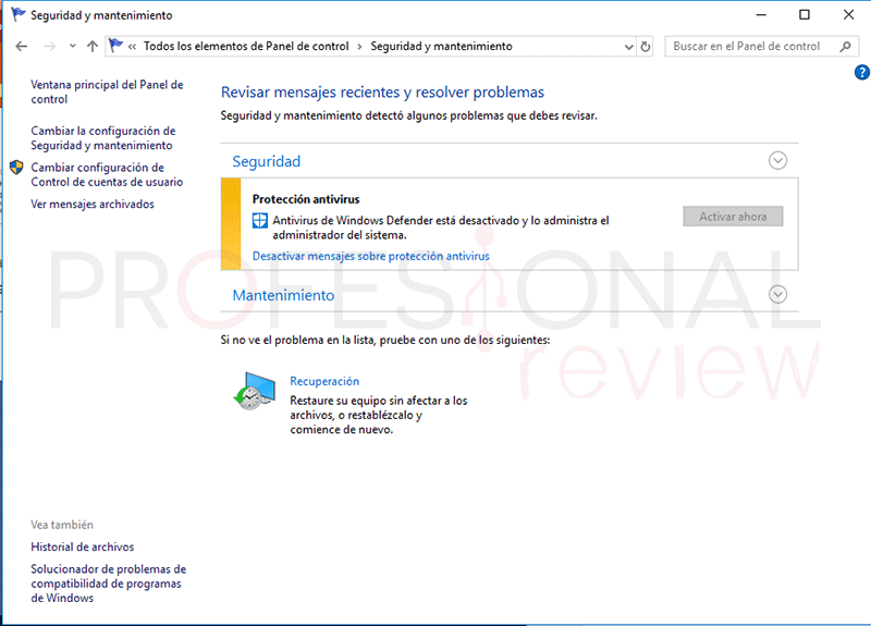 Desactivar Windows Defender tuto13
