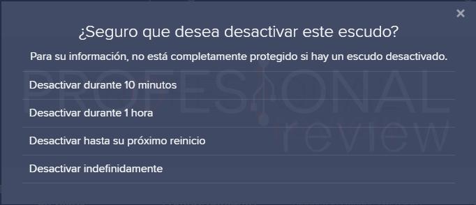 Desactivar Avast tuto05