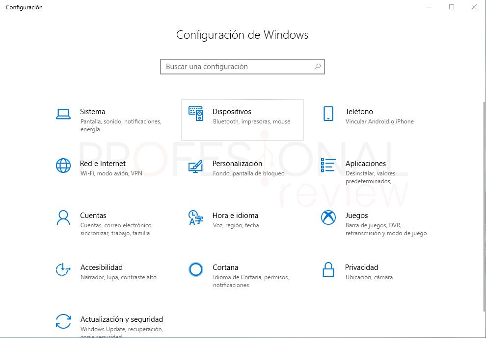 Desactivar touchpad en Windows 10 tuto04