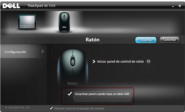 Desactivar touchpad en Windows 10 tuto07