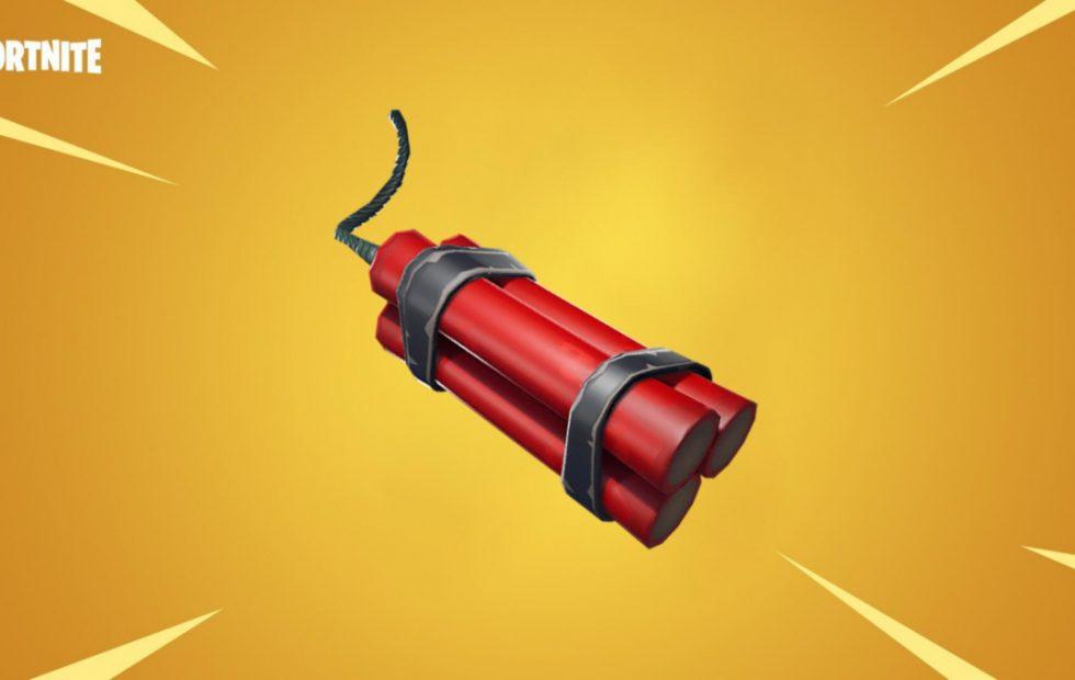 Fortnite tendrá dinamita muy pronto
