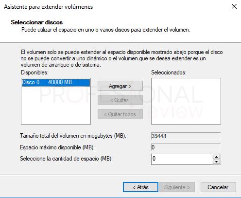 Eliminar particiones en Windows 10 tuto06