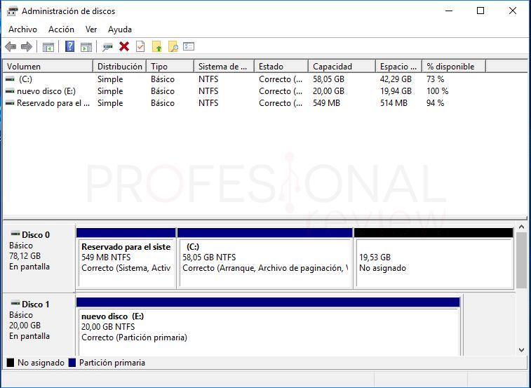 Eliminar particiones en Windows 10 tuto08