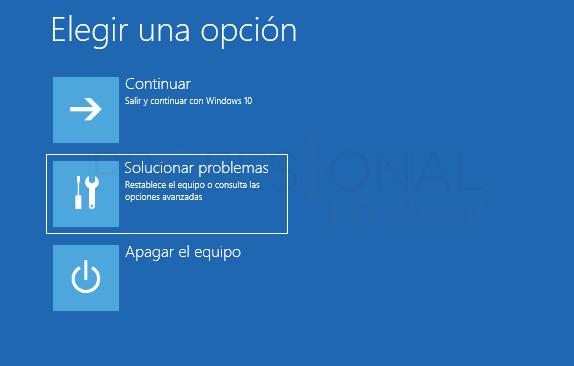 Error en el servicio de perfil de usuario tuto01