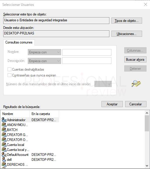 Escritorio remoto Windows 10 paso 08