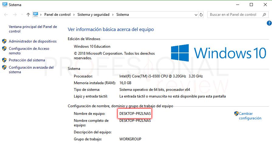 Escritorio remoto Windows 10 paso 14