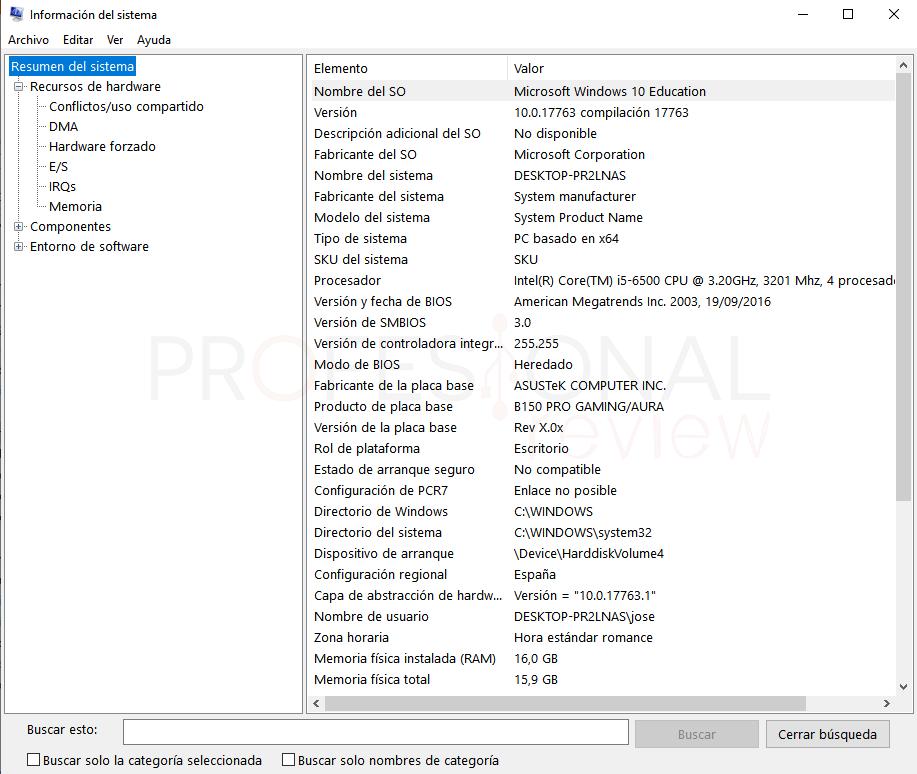 Herramientas administrativas Windows 10 paso 07