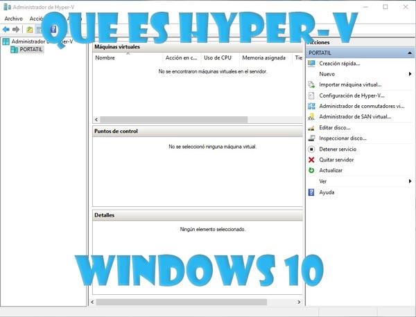 Hyper-v Windows 10