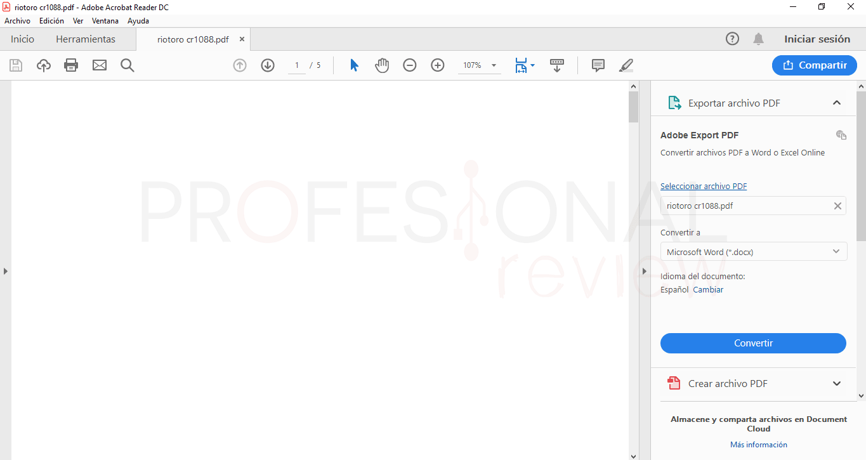 Mejores lectores PDF en Windows 10 tuto02