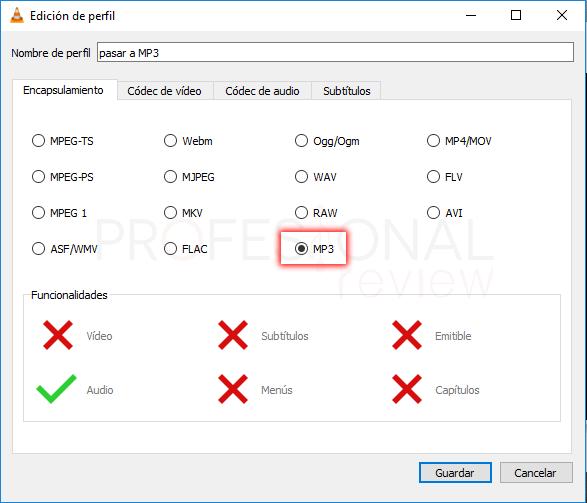 Pasar CD a MP3 Windows 10 tuto11