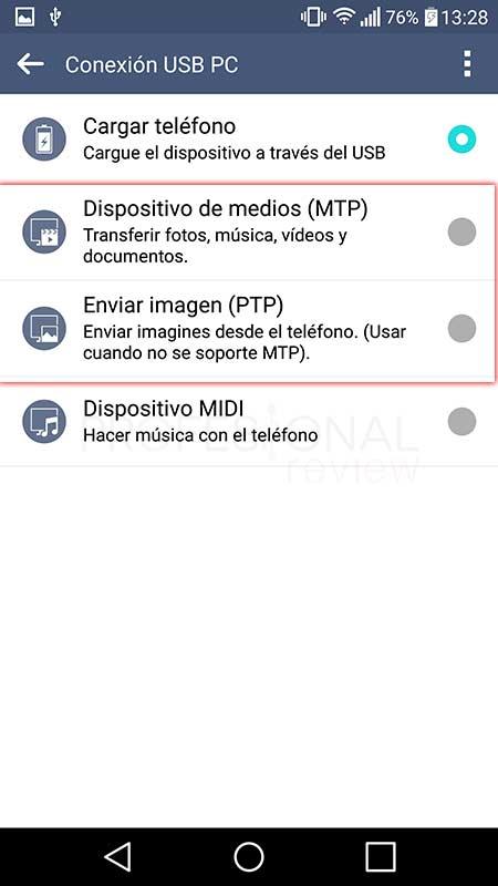 Pasar fotos del móvil al ordenador tuto13