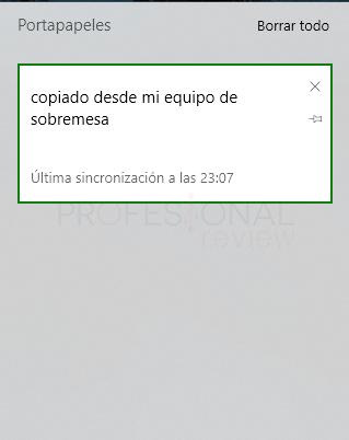 portapapeles Windows 10 paso 07