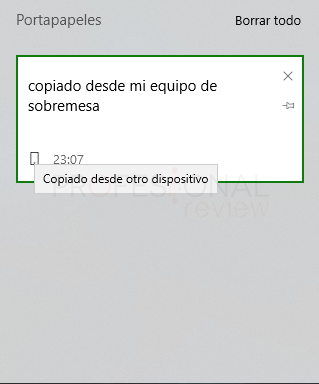 portapapeles Windows 10 paso 08