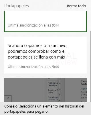 portapapeles Windows 10 paso 03