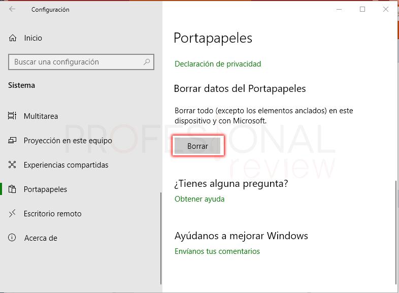 portapapeles Windows 10 paso 04