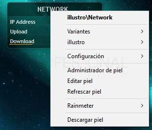 Rainmeter Windows 10 tuto06