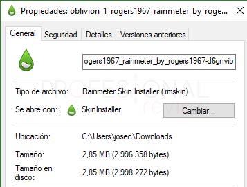 Rainmeter Windows 10 tuto09